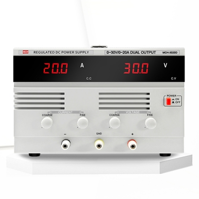 Large linear DC power supply