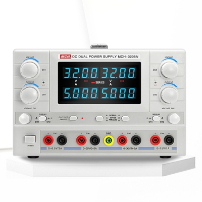 Four-channel linear DC power supply